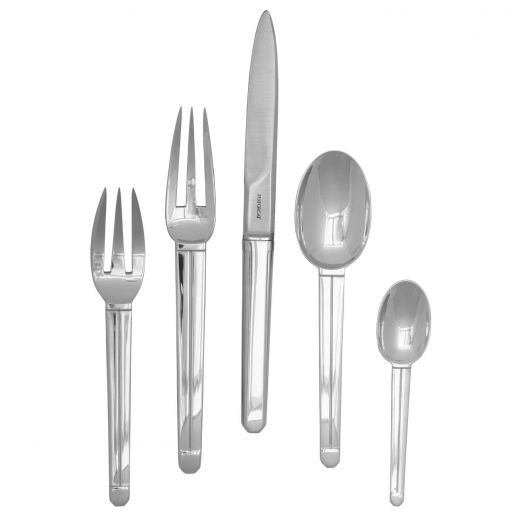 Puiforcat Guethary Stainless Steel Flatware Collection