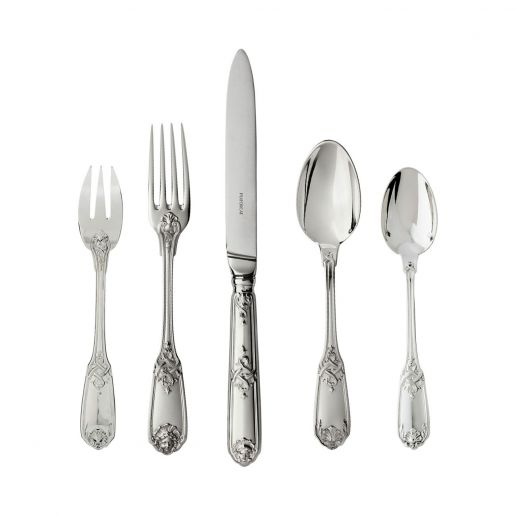 Puiforcat Moliere Sterling Silver Flatware Collection