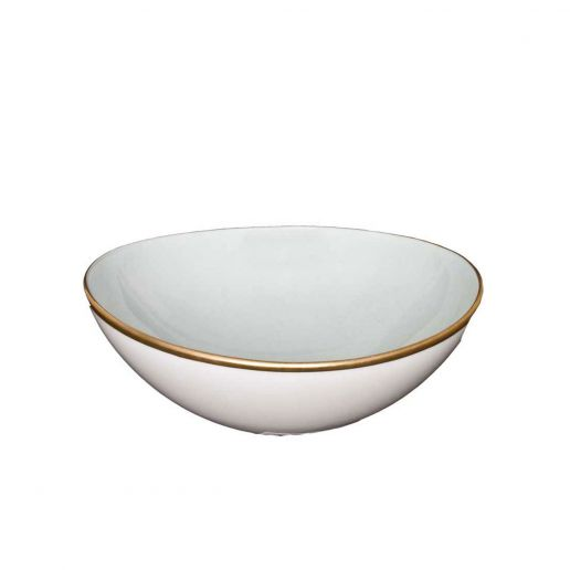 Anna Weatherley Powder Blue Cereal Bowl