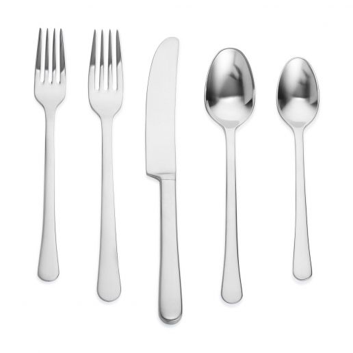 Georg Jensen Copenhagen Stainless Steel Matte Flatware Collection