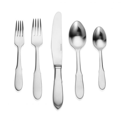 Georg Jensen Mitra Stainless Steel Matte Flatware Collection