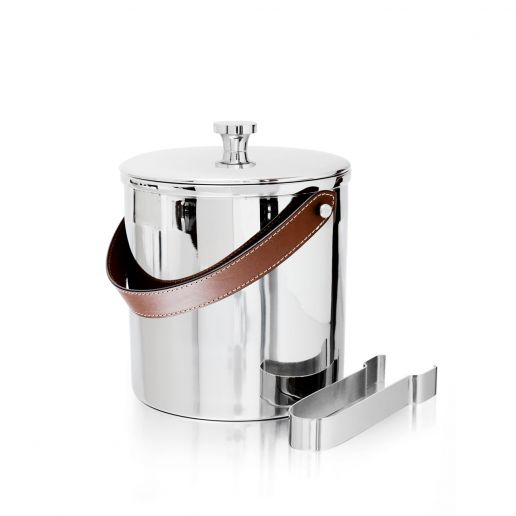Ralph Lauren Preston Ice Bucket with Tongs
