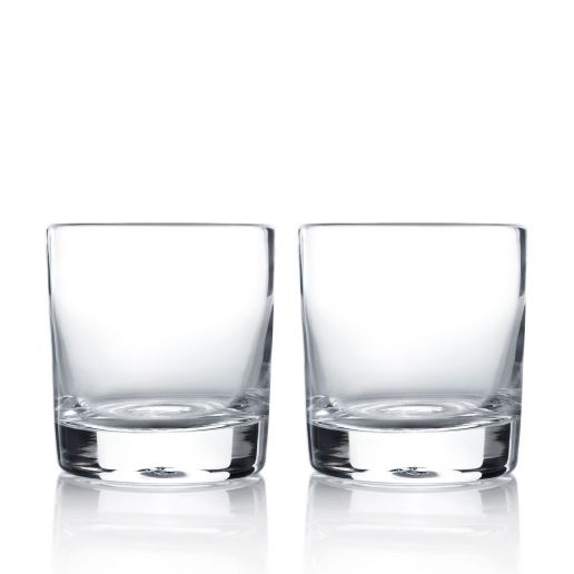 Simon Pearce Ascutney Double Old Fashioned, Set of 2