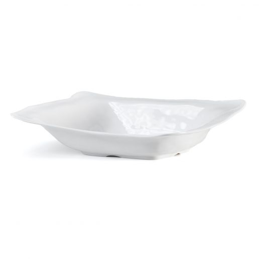 Q Squared Ruffle Rectangle Serving Bowl 17
