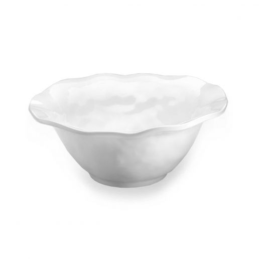 Q Squared Ruffle Round Serving Bowl 12