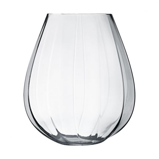 Georg Jensen Large Facet Glass Vase