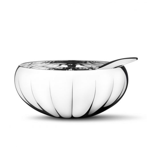 Georg Jensen Legacy Stainless Steel Bowl with Spoon