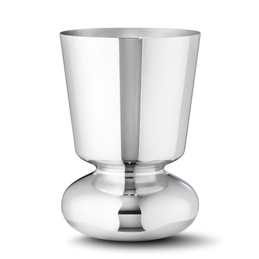 Georg Jensen Alfredo Stainless Steel Small Vase
