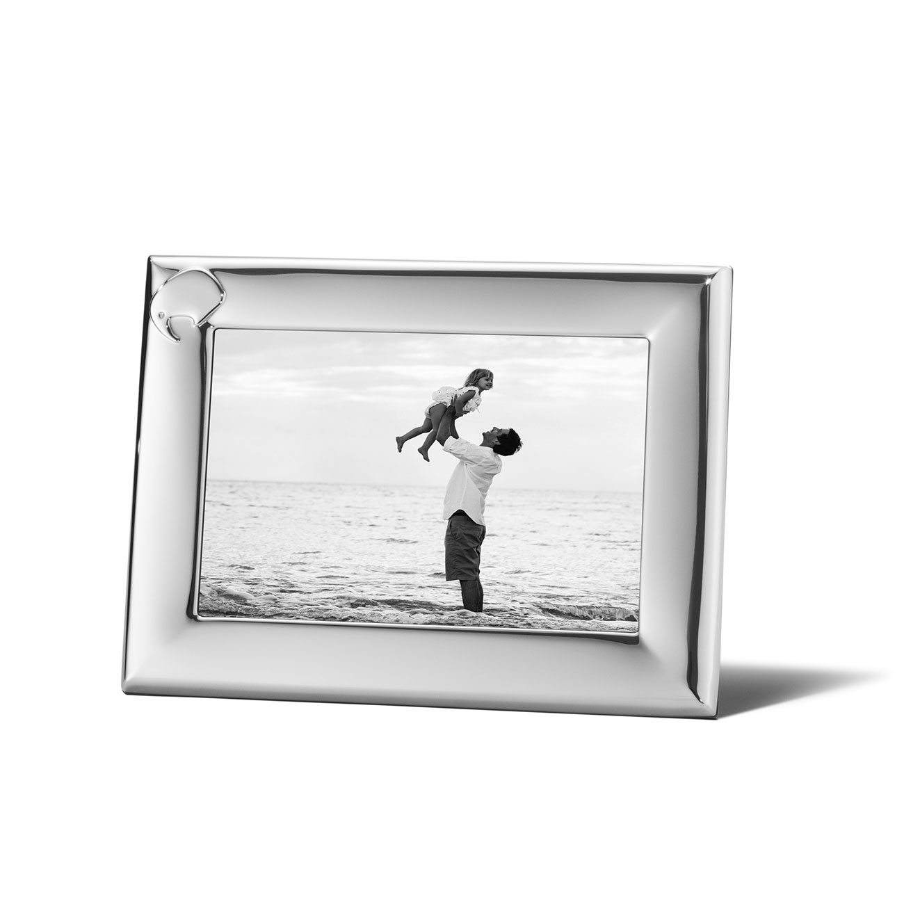 Georg Jensen Stainless Steel Elephant Picture Frame, 4 x 6