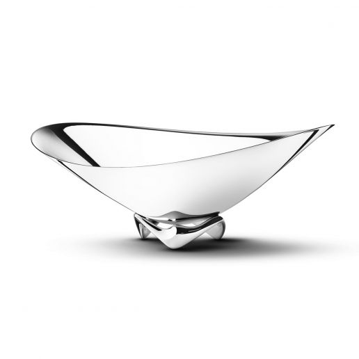 Georg Jensen Henning Koppel Stainless Steel Wave Bowl