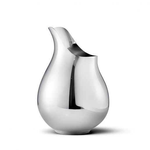 Georg Jensen Ilse Stainless Steel Medium Vase