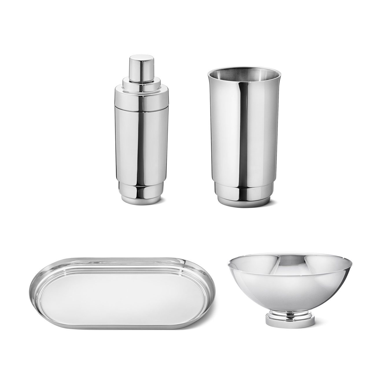 Georg Jensen Stainless Steel Manhattan Collection