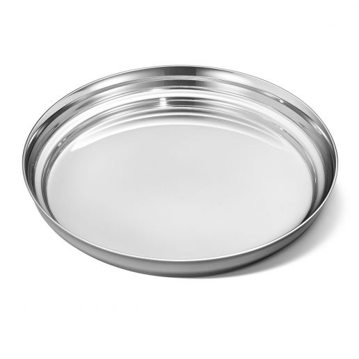 Georg Jensen Stainless Steel Manhattan Wine Coaster
