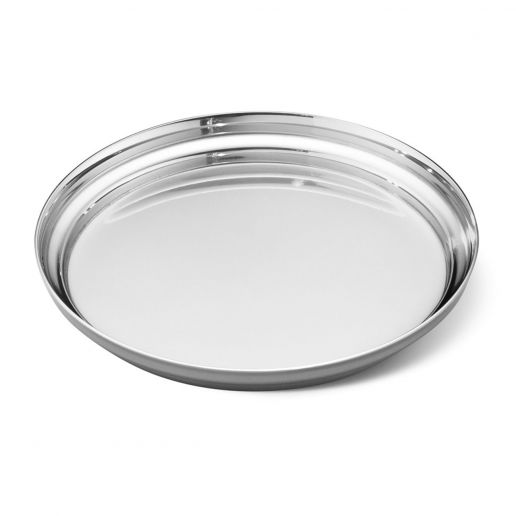 Georg Jensen Stainless Steel Manhattan Glass Coaster
