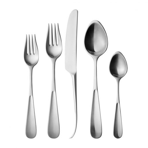 Georg Jensen Stainless Steel Matte Vivianna Flatware Collection