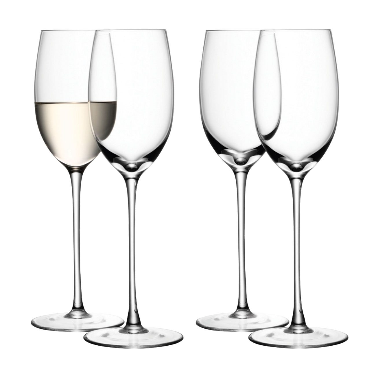 LSA International White Wine Glass, Set of 4