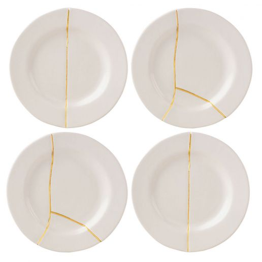 Michael Wainwright Mezza Tidbit Plates, Set of 4