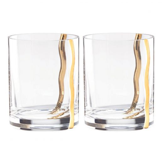 Michael Wainwright Mezza Double Old Fashioned, Set of 2