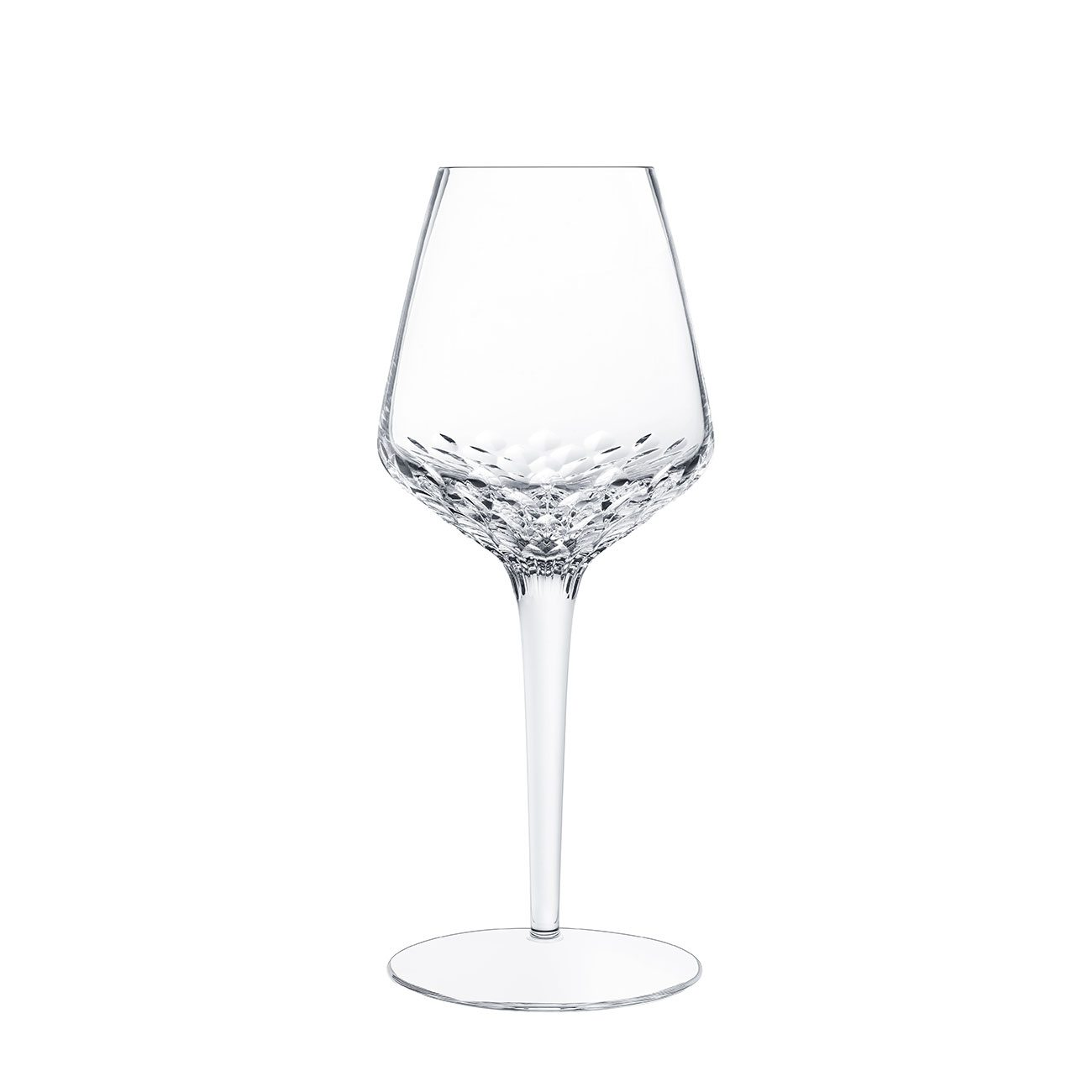 Saint-Louis Crystal Folia White Wine Glass