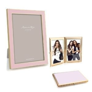 Addison Ross Pastel Pink Enamel Gold Frame Collection