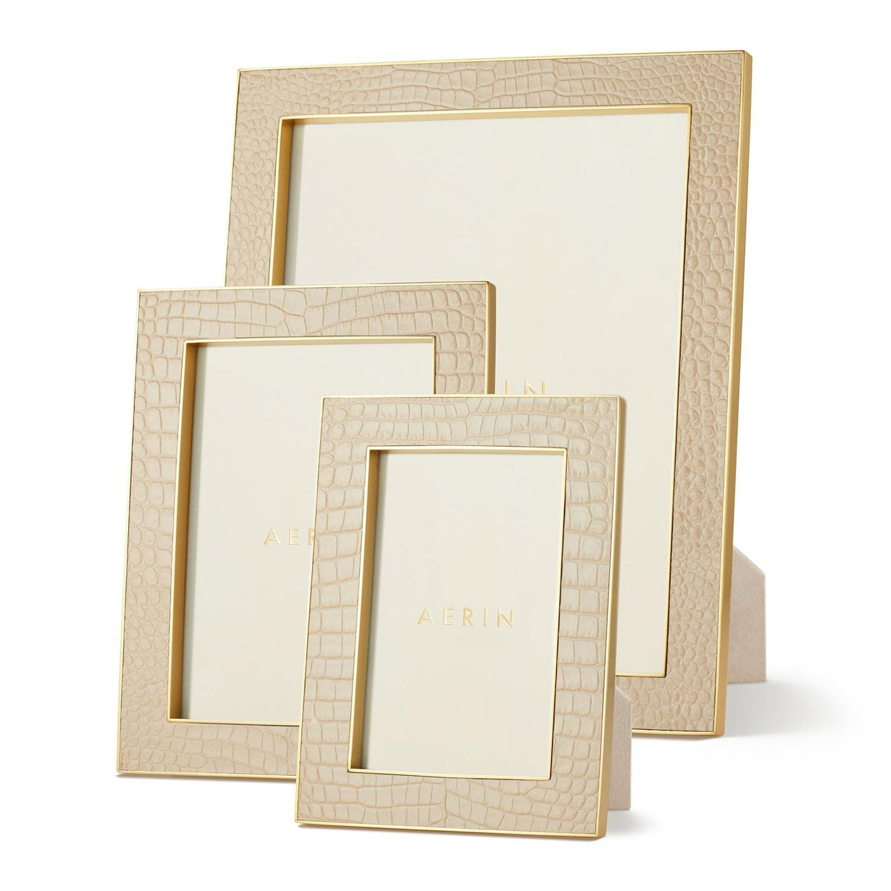 AERIN Classic Croc Leather Collection