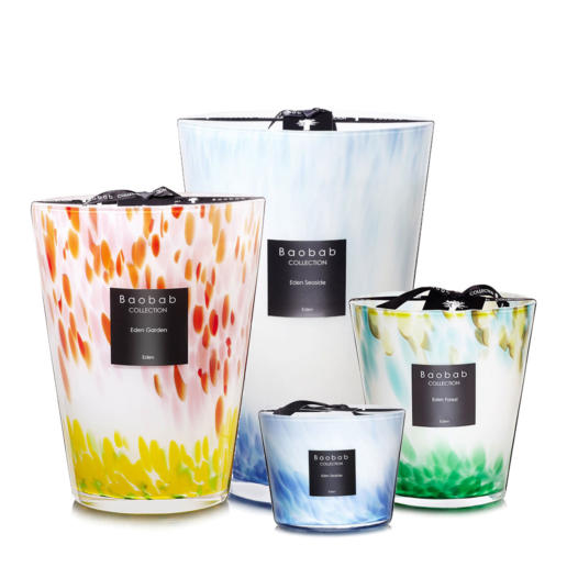 Baobab Eden Limited Edition Scented Candle Collection