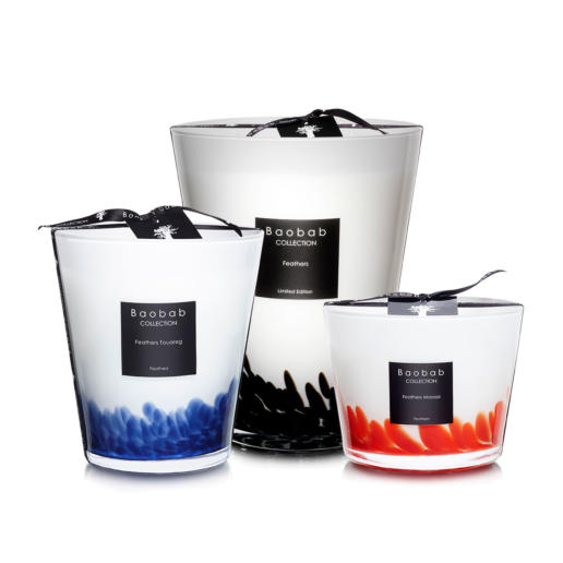 Baobab Feathers Scented Candles Collection