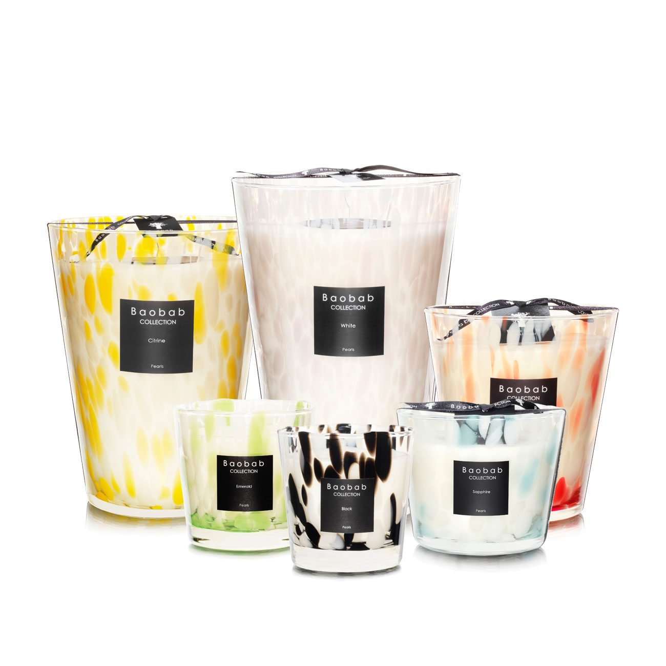 Baobab Pearls Scented Candle Collection