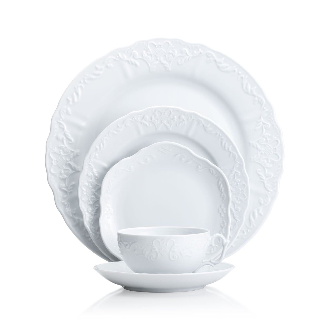 Anna Weatherley Simply Anna White Dinnerware Collection