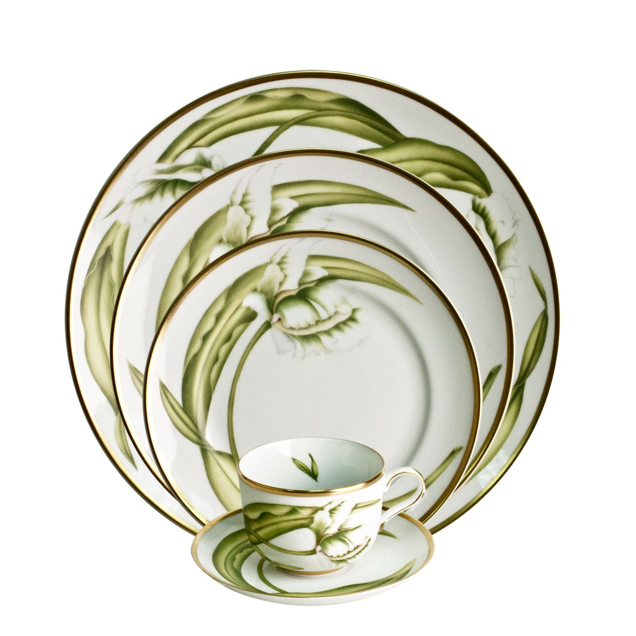 Anna Weatherley White Tulips Dinnerware Collection