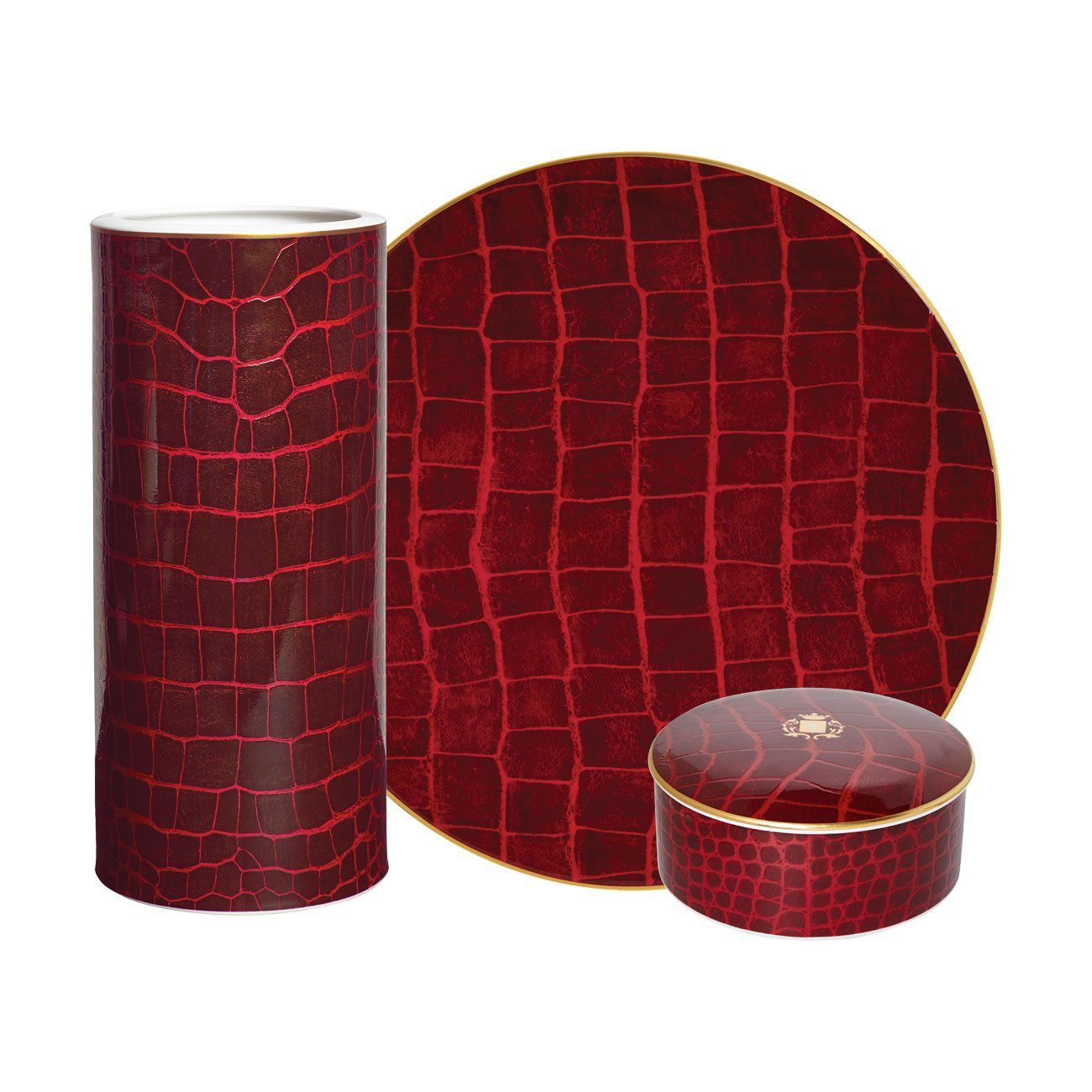 Prouna Alligator Ruby Collection