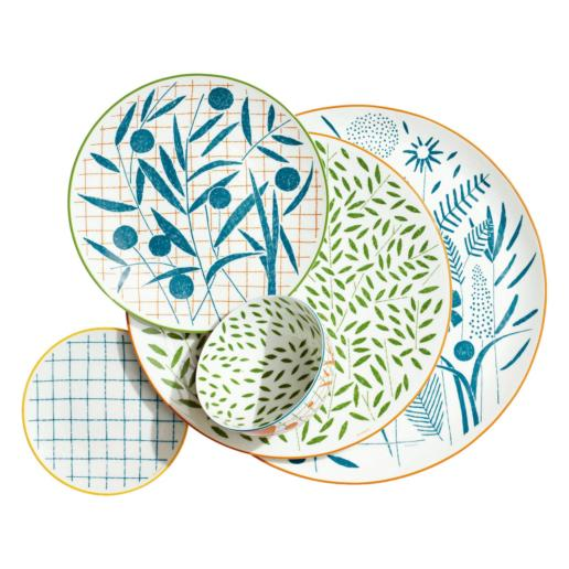 Hermes A Walk in the Garden Dinnerware Collection