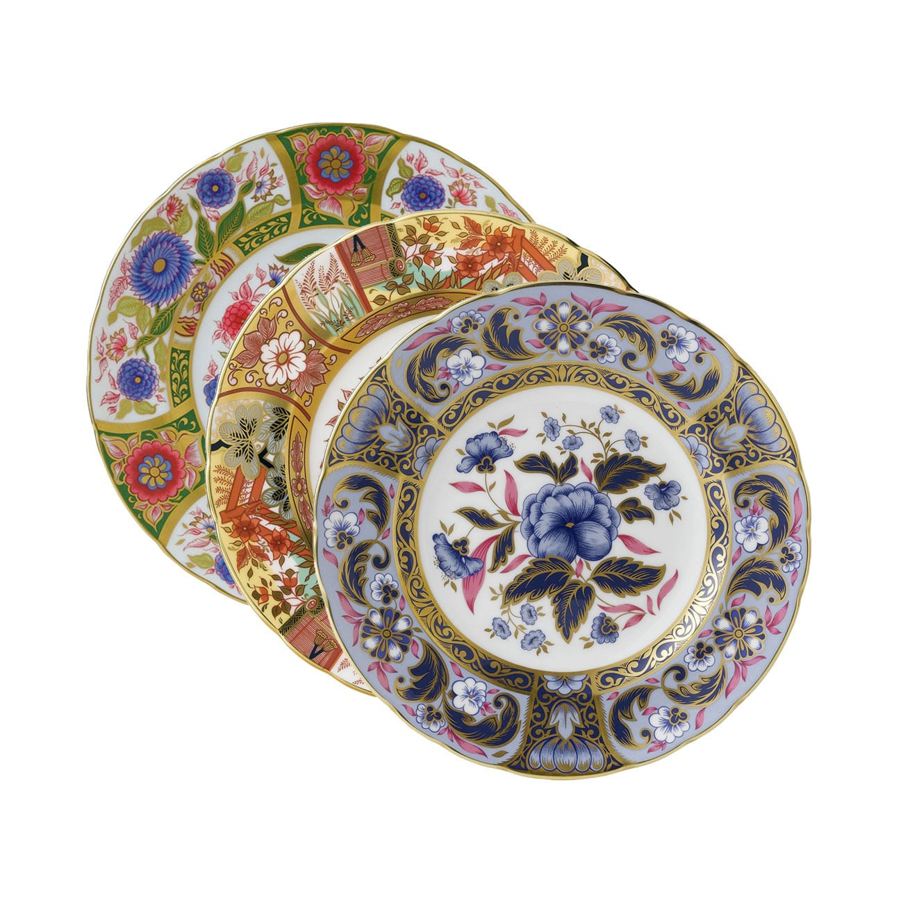 Royal Crown Derby Imari Accent Plates Collection