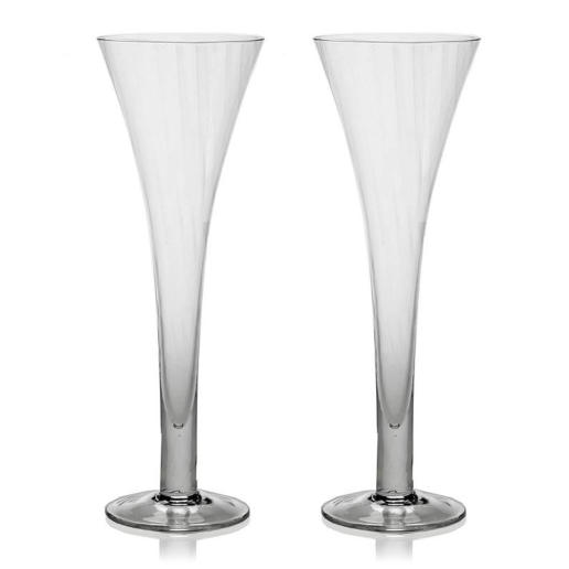 William Yeoward Corinne Champagne Flute Hollow Stem, Set Of 2
